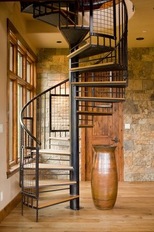 Best Rustic Staircase With Metal Staircase High Ceiling 400 x 300