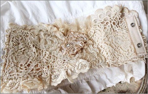vintage lace cuff
