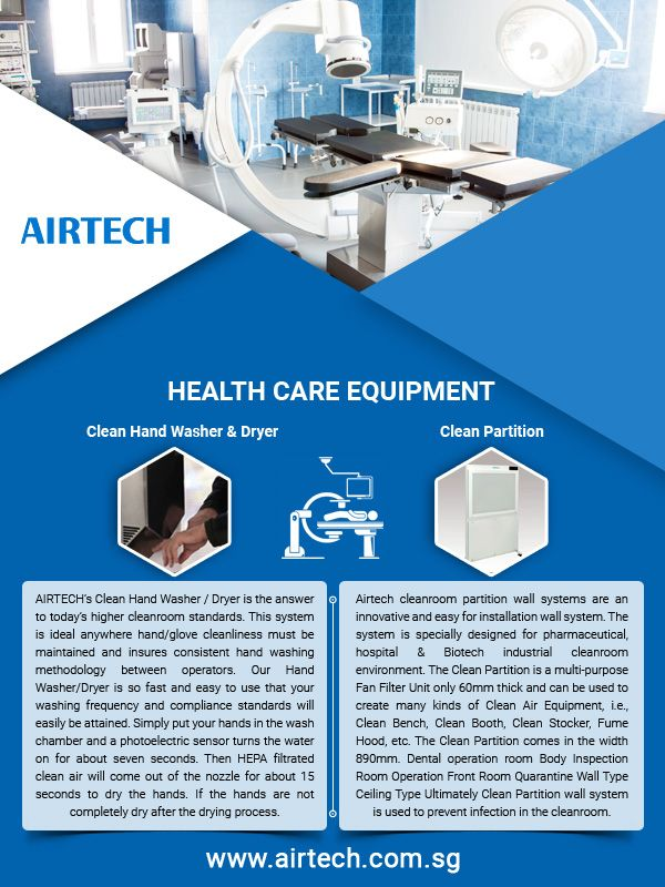 Airtech is an innovative Singapore based hospital solutions