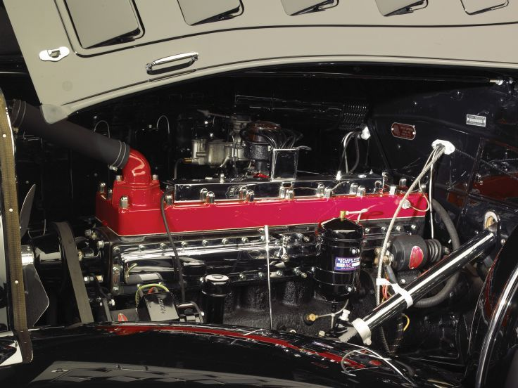 1933 Chrysler LeBaron Imperial Sport Phaeton motores retro papel tapiz de fondo motor E
