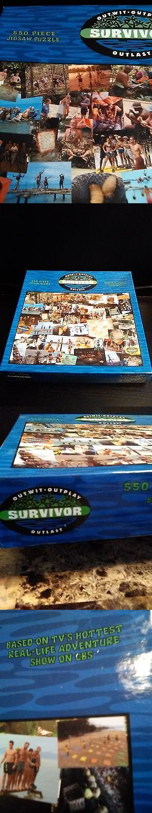 Jigsaw 19183: Survivor Season One Jigsaw Puzzle New Never Opened 550 Pieces Collectors Item -> BUY IT NOW ONLY: $31.95 on eBay!