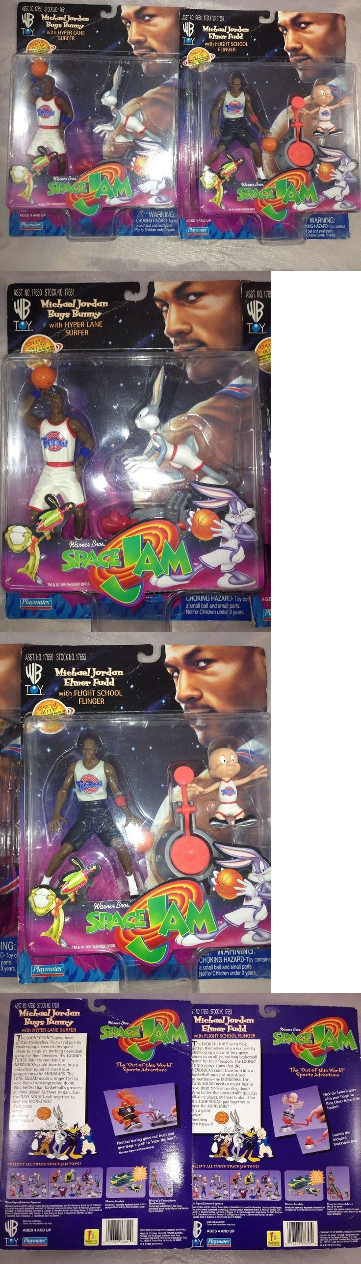 Warner Bros 19250: Michael Jordan 1996 Lot Of 2 Elmer Fudd And Bugs Bunny W Flinger And Surfer Toy Nib -> BUY IT NOW ONLY: $32.98 on eBay!