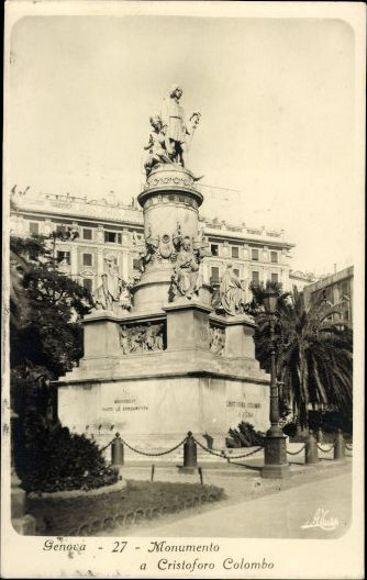 Postcard Genova Genua Ligurien