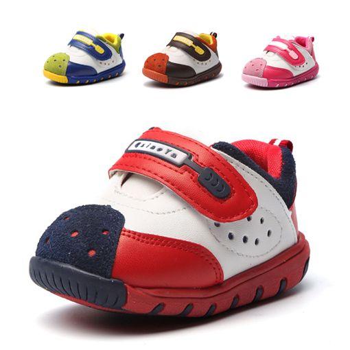 Свободного покроя детские кроссовки девушки-мальчиков кроссовки мягкой подошвой малыш shoes высокое качество телячья кожа детская обувь мода девочка кроссовки