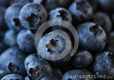 Background of Fresh Ripe Sweet Blueberries ,macro.