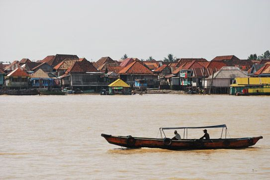 Palembang, Indonesia - Little Bangkok