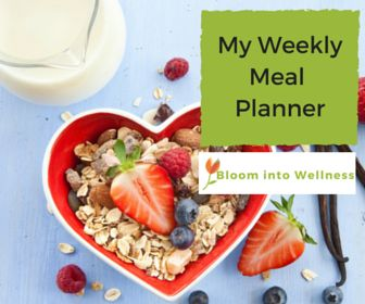 My Weekly Meal Planner- is a FREE resource for you to download to help you plan meals ahead of time to make healthier meal choices.