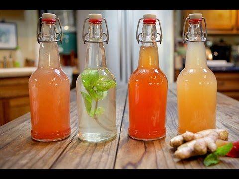 """El kéfir de agua ( nodulos de Kefir o hongos tibetanos ) es una bebida probiótica parecida a una """"limonada con gas"""", y tiene propiedades muy beneficiosas par..."""