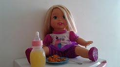 preparando o almoço das bonecas - YouTube