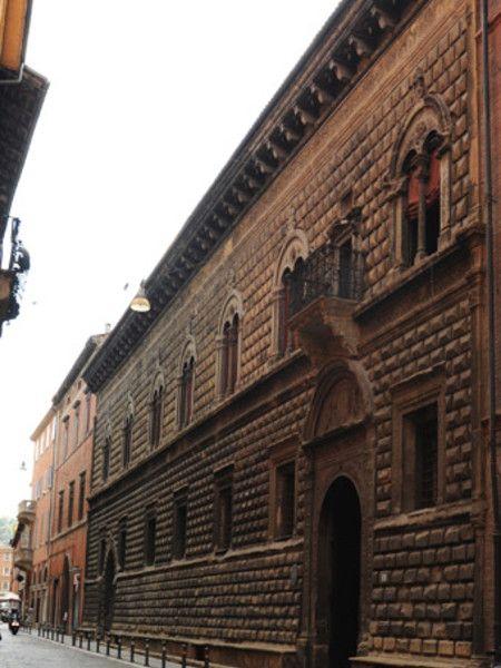 Palazzo Sanuti Bevilacqua degli Ariosti, Bologna, Italy; end of XV c.