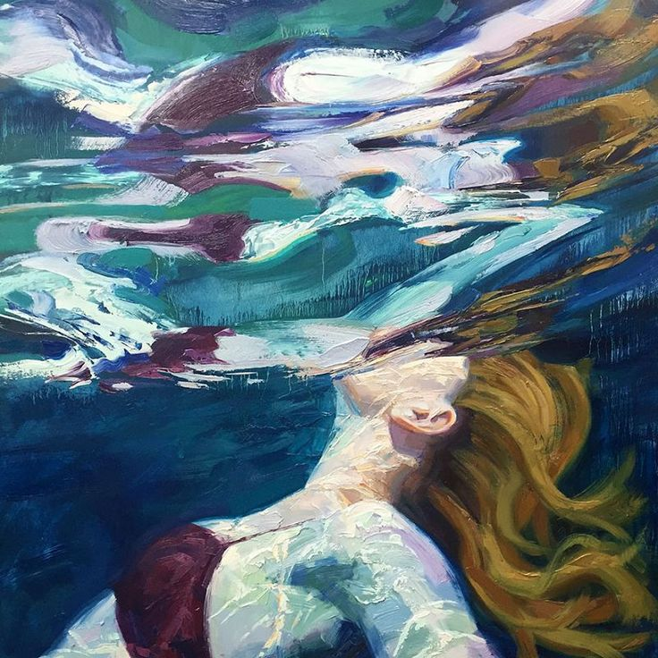 Les superbes Peintures sous-marines de Isabel Emrich
