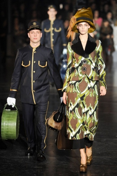 Louis Vuitton A/W collection 2012.