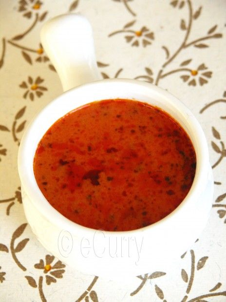 Makhani Masala is the very aromatic butter based tomato cream sauce seasoned with spices and herbs – the base gravy for most of the tomato based creamy dishes in the Indian restaurants.