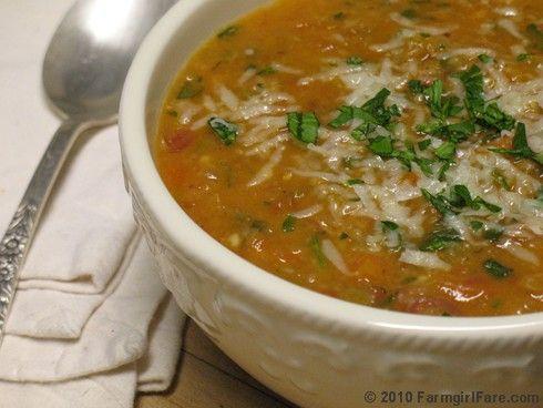 Farmgirl Fare: Paula Butturini's Zuppa di Fagioli / Italian White Bean Soup