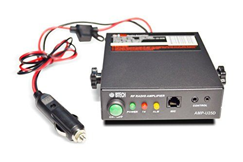 BTECH AMP-U25D Amplifier (Supports DMR) UHF (400-480MHz), 20-40W