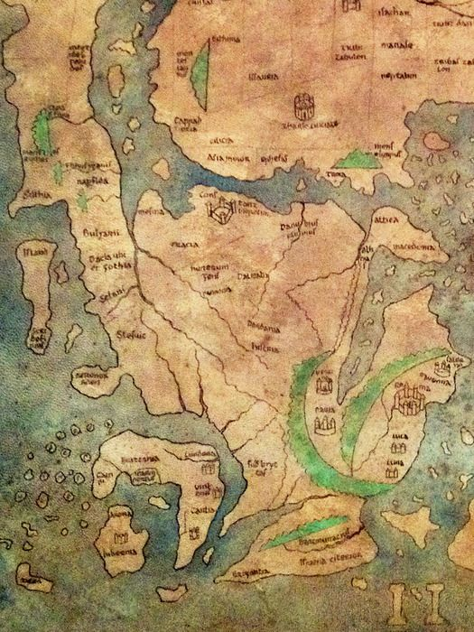 """""""Mappa Mundi"""" on Niume"""