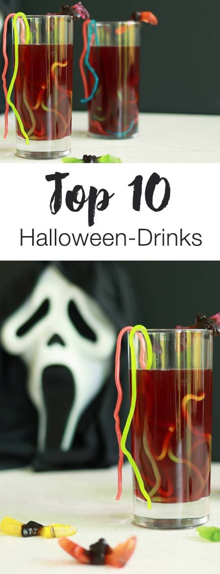 Blutwein, Zaubertrank und Co - Mit diesen gruseligen Getränken bringt ihr eure Gäste in Party-Stimmung!