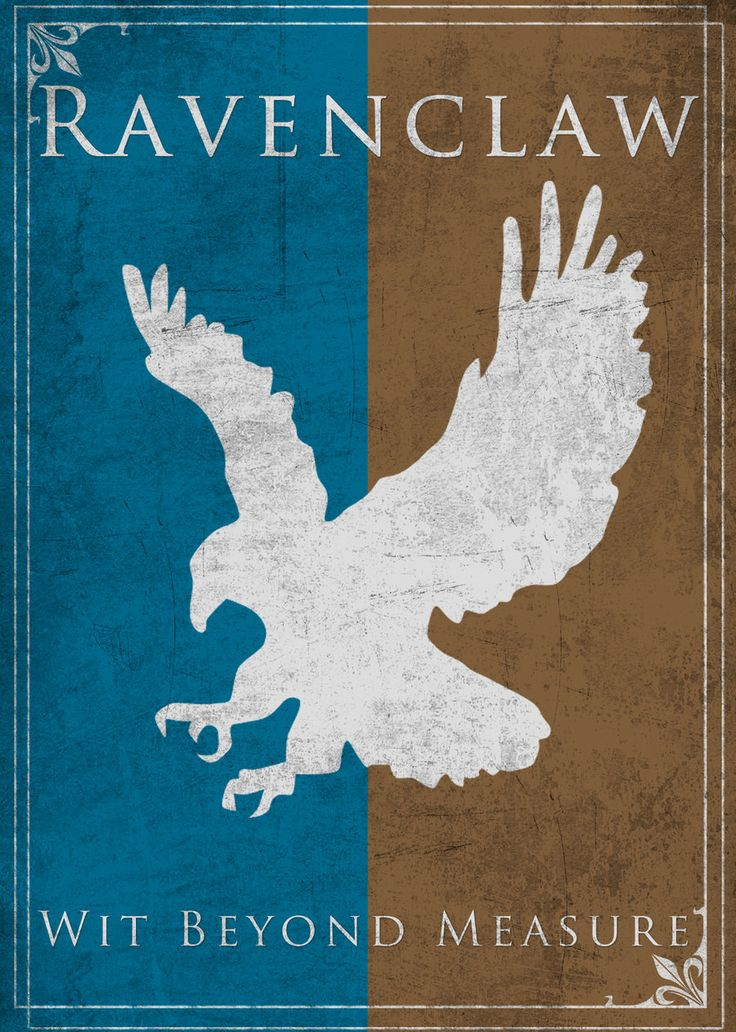 Game of Thrones Style Ravenclaw Banner by ~TheLadyAvatar on deviantART