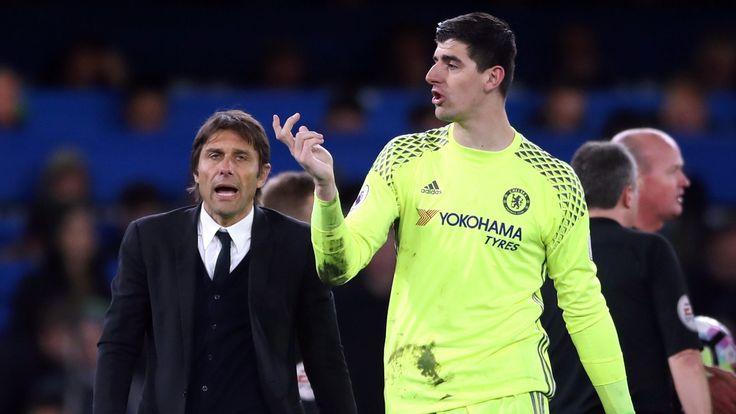 Thibaut Courtois has full faith in Chelsea boss Antonio Conte #News #AntonioConte #CarabaoCup #Chelsea #Football