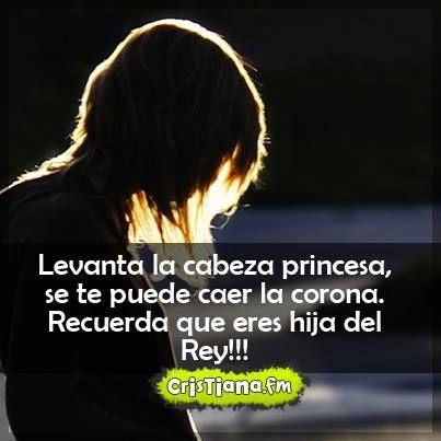 Si eres hija de Dios, eres una princesa