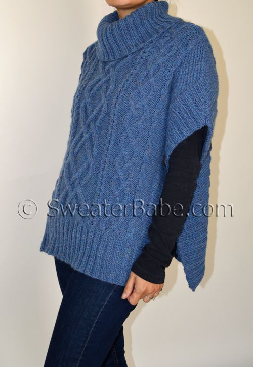 The Noe Valley Sweater: a knitting pattern preview and giveaway! Enter to win this pattern. SweaterBabe.com