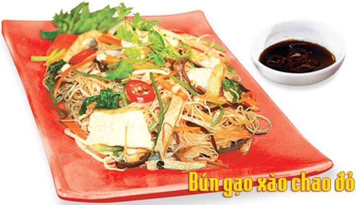 Cách làm món chay bún gạo xào chao đỏ ngon, lạ miệng - http://congthucmonngon.com/129197/129197.html