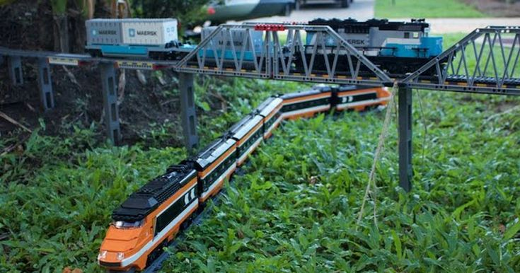 #World #News  Dude builds the epic Lego train set of your dreams, puts a camera on it  #StopRussianAggression