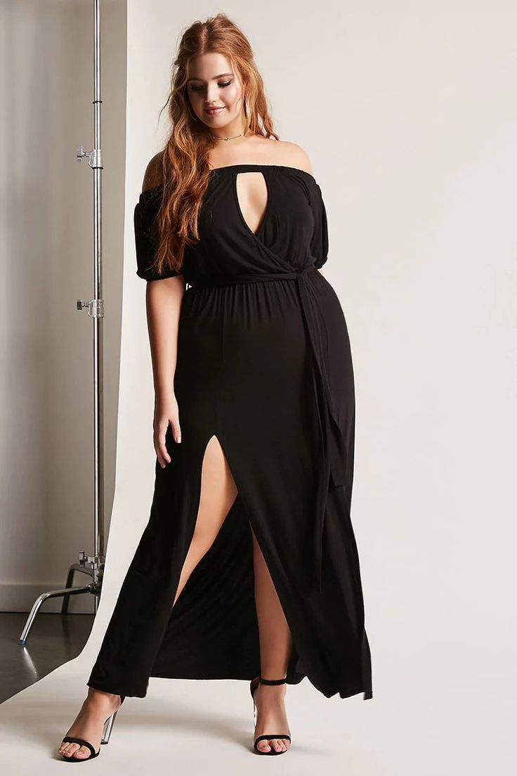 Plus Size Belted Maxi Dress | Forever 21