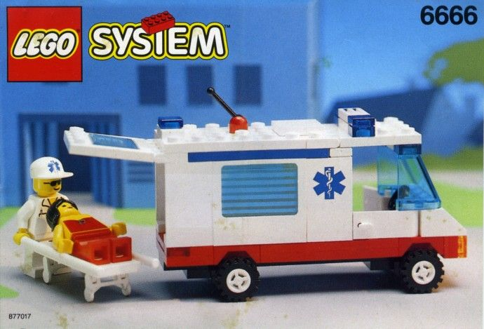 6666-1: Ambulance | Brickset: LEGO set guide and database