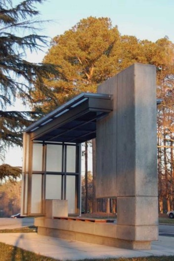 Bus Shelter  Raleigh, NC  PBC + L Architecture