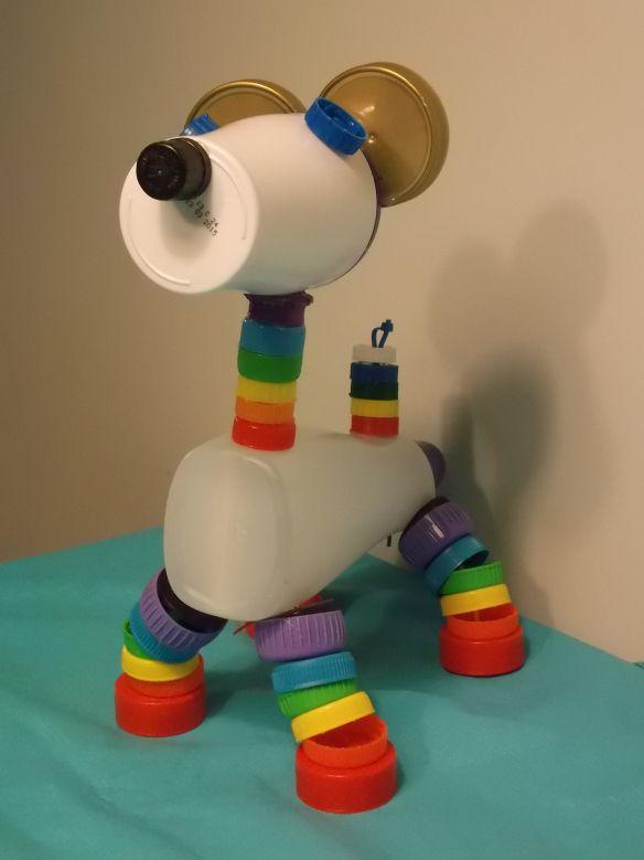 doppenhond/bottle cap dog