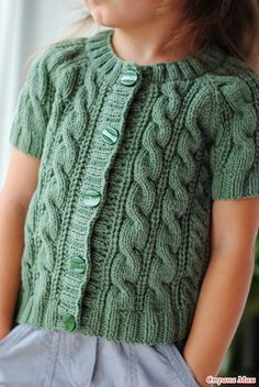 Кардиган - Вязание для детей - Страна Мам