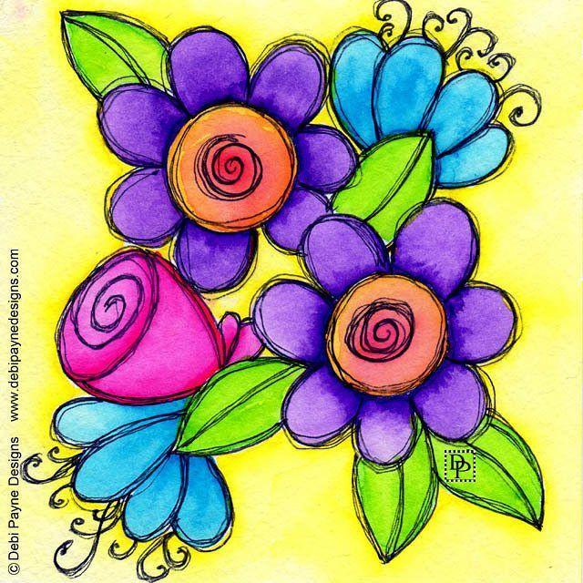 Art journal page by Debi Payne Designs (@debipaynedesigns)