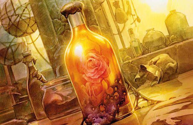 Elixir of Immortality | Art by Zoltan Boros and Gabor Szikszai