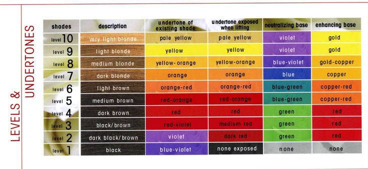 The Level System: understand this so you know exactly what your hairdresser is talking about when doing your bleaching or colouring
