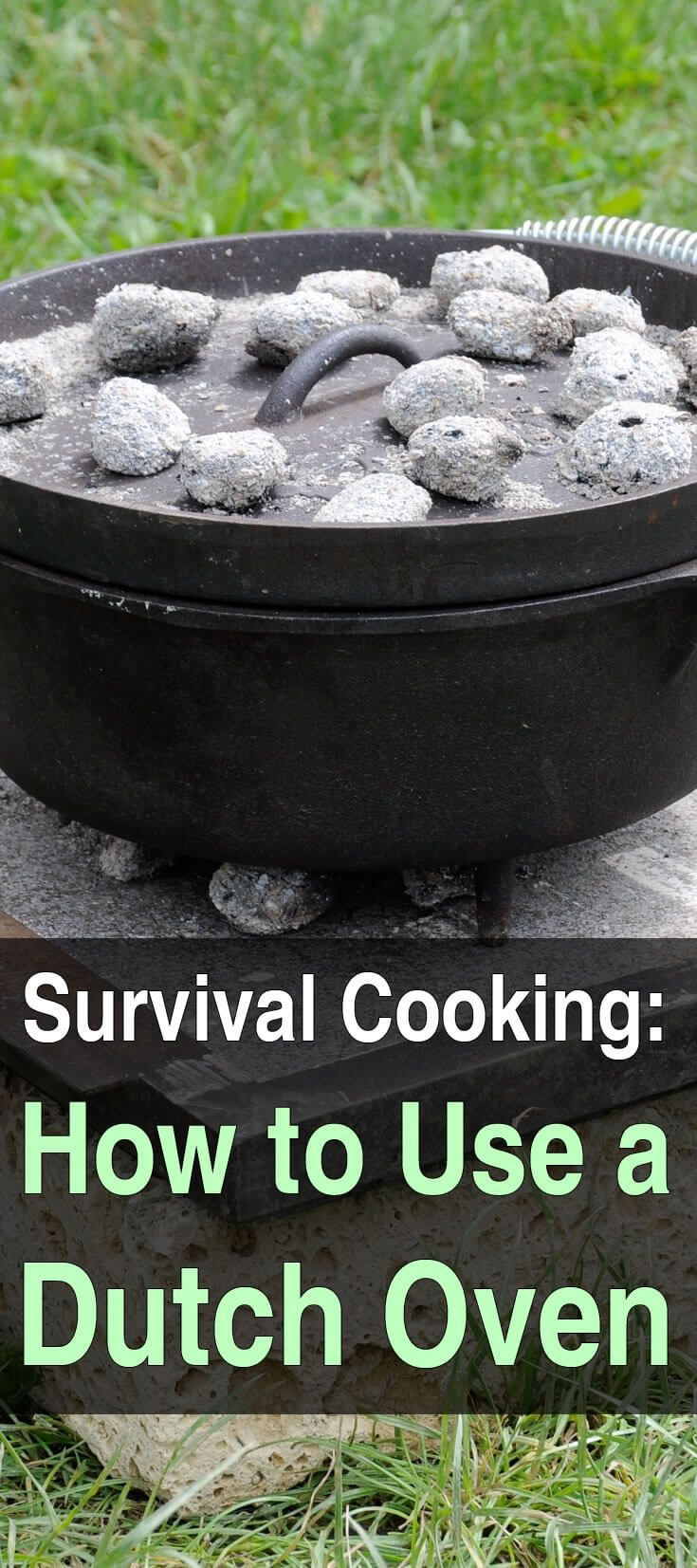 Of all the tools you can use to cook food off the grid, the best one is the Dutch oven. Every prepper should get one and learn how to use it.
