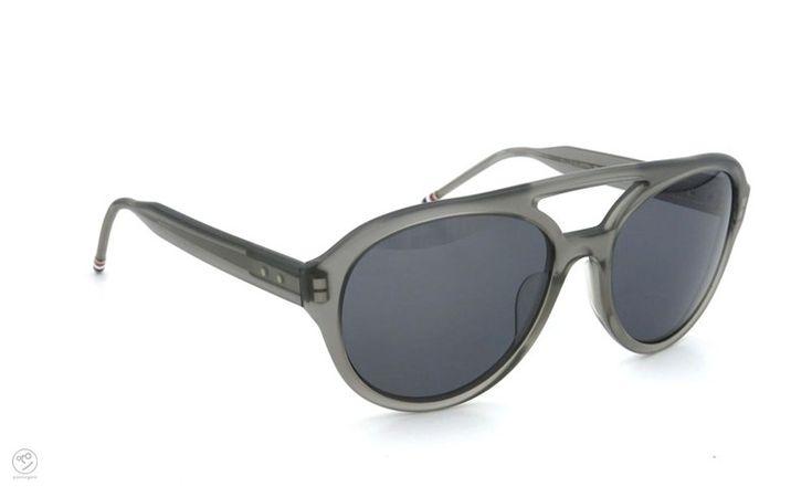 THOM BROWNE. eyewear archive TB-301-C-T-BLK-54