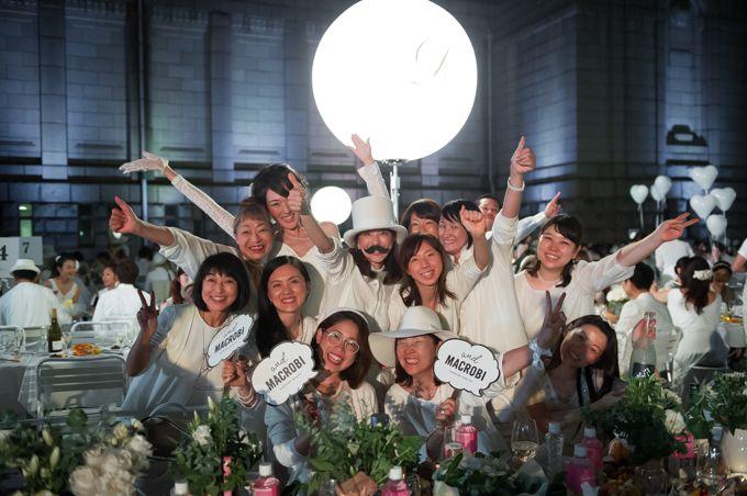 ドレスコード白のシークレット・ディナーパーティー「ディネ・アン・ブラン」が日本上陸の写真6
