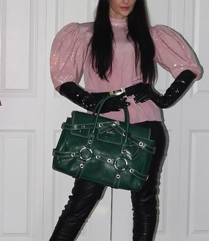 Luella Green Leather Bag (www.Lenchylux.com)
