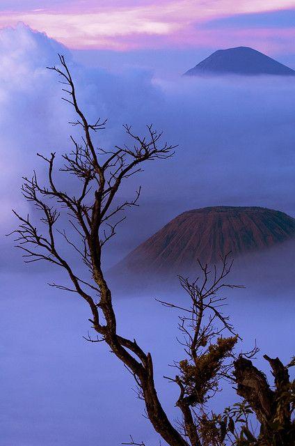 Gunung Bromo, Probolinggo, Jawa Timur.