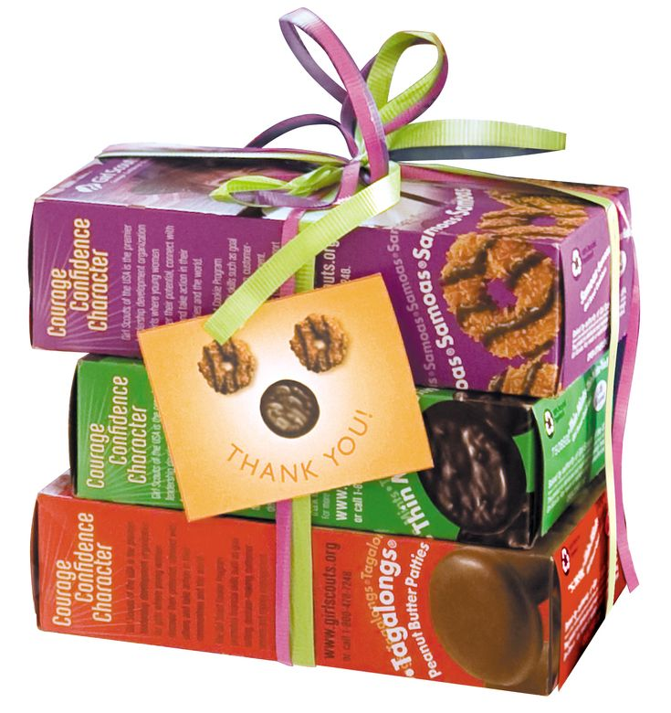 Create bundles of cookies to sell at booths