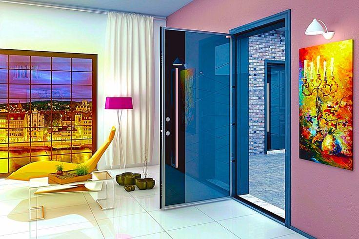 porte blindée Messina 73.  www.portedesignsecurite.com