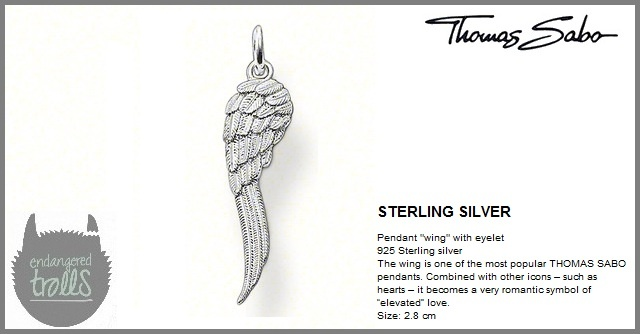 Thomas Sabo Fall 2012 - Special Additions - Angel Wing Pendant