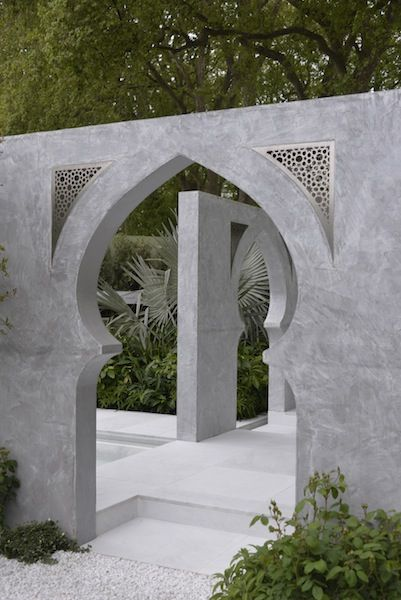 The Beauty of Islam Garden. . Click to read article and to see plants list used.