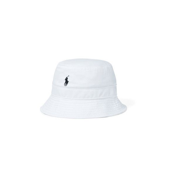 Polo Ralph Lauren Bucket hat-hat-cotton/polyester ($55) ❤ liked on Polyvore featuring men's fashion, men's clothing, 3618-128292, white, organic cotton men's clothing, polo ralph lauren mens clothing and off white mens clothing