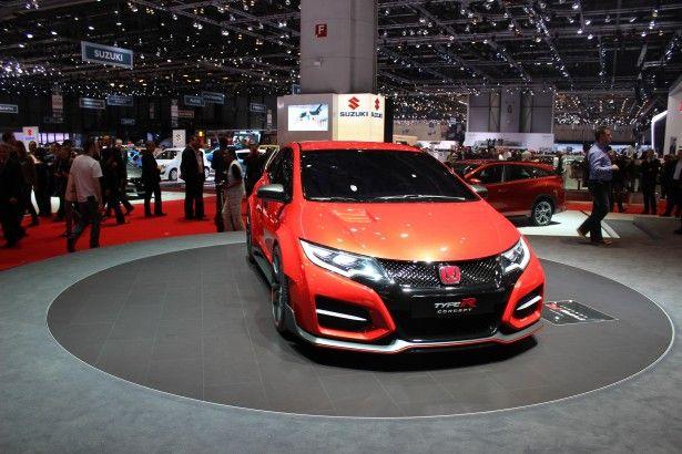 Cars - Honda Civic Type R Concept : Honda se met au turbo ! - http://lesvoitures.fr/honda-civic-type-r-concept-2015/