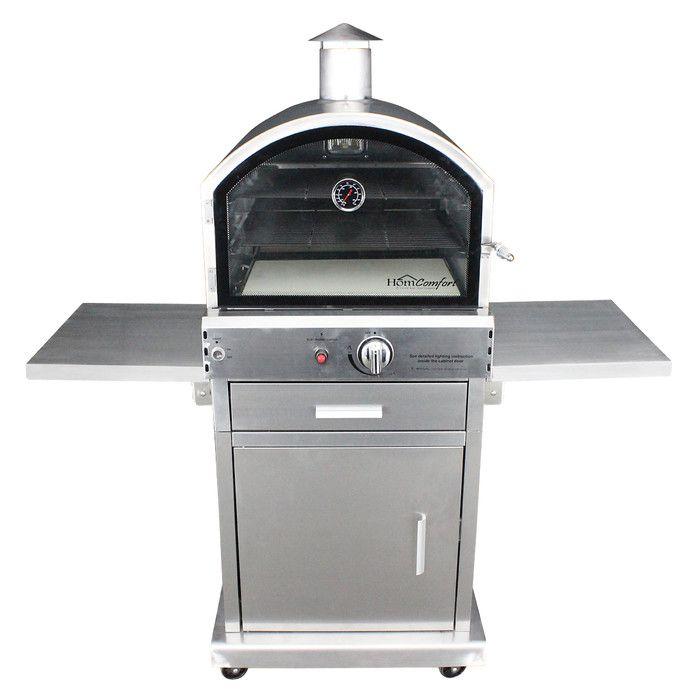 HomComfort Propane Pizza Oven & Reviews   Wayfair