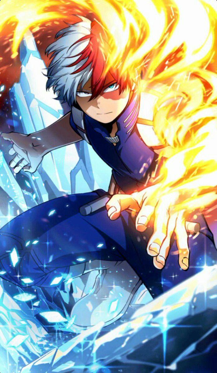 Todoroki Hero wallpaper, Anime, My hero academia shouto