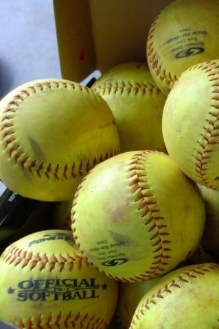 Softball. Softball. Softball