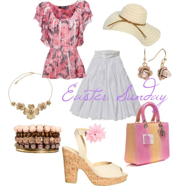 Easter Sunday, created by crystalv on Polyvore